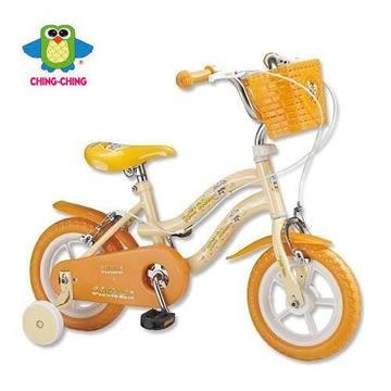 親親 12吋 腳踏車 (草莓粉 / 河馬橘)