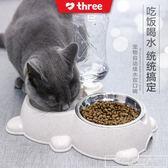 泰迪狗狗盆用品貓咪寵物自動喂食器喂狗神器狗碗貓碗雙碗飲水『韓女王』