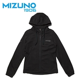 MIZUNO 女裝 外套 連帽 1906 針織 套裝 素面 袖口縮口 黑【運動世界】D2TC923309