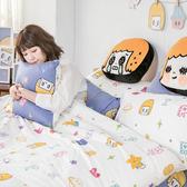 床包被套組 / 雙人加大【MORITA 的閃閃星空】含兩件枕套  100%精梳棉  戀家小舖台灣製AAL312