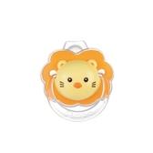 臺灣產小獅王辛巴嬰兒安撫奶嘴0-6-18個月寶寶安睡型矽膠帶防塵蓋