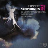【停看聽音響唱片】【CD】提佩特:第三,四號交響曲 馬汀.布拉賓斯 指揮