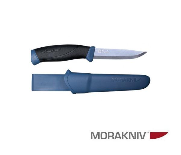 丹大戶外用品【MORAKNIV】瑞典 COMPANION 不鏽鋼直刀 海軍藍 13214