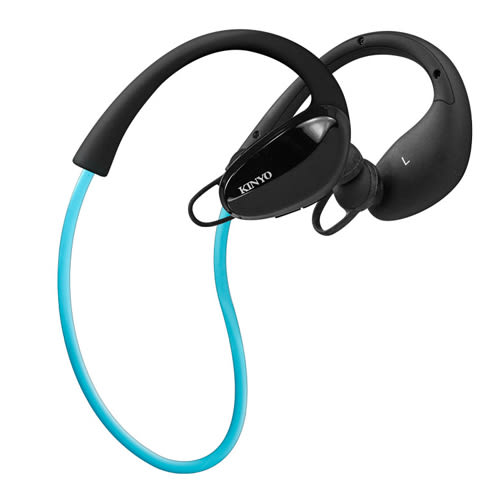 KINYO無線藍芽降噪運動耳機BTE-3665【愛買】