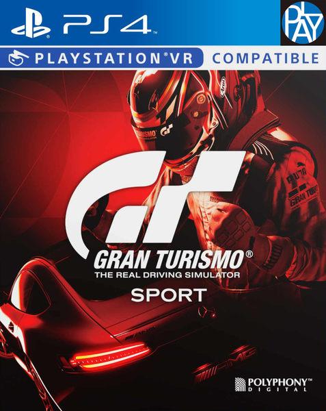 PS4-GT Sport 跑車浪漫旅 競速 一般中文版 含初回特典 實體光碟版 PLAY-小無電玩