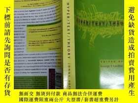 二手書博民逛書店Hyper罕見Text Theory 超文本理論( 版)Y795
