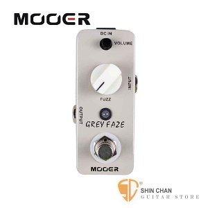 Mooer Grey Faze 經典法茲效果器【Fuzz Pedal】【Micro系列GF】