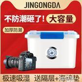 單反相機防潮箱攝影器材鏡頭數碼電子收納箱錢幣安全乾燥箱盒塑膠密封JD 智慧e家