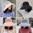 [免運] 《簍空帽》透氣網眼款大帽沿遮陽...