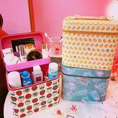 可愛大容量手提化妝品收納整理卡通防水女生【聚寶屋】
