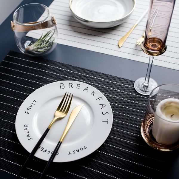 可愛時尚實用餐墊 盤墊 碗墊餐墊39 (一套四入)