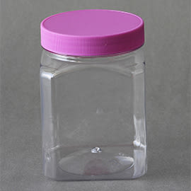 《荷包袋》食品罐  PET塑膠罐 B-860 (1入)