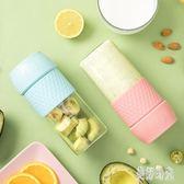 榨汁機家用水果小型便攜式迷你多功能充電榨汁杯 CJ2302『美好時光』