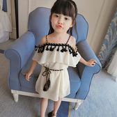 【全館八九折】女童洋裝1寶寶公主夏裝2兒童3歲小女孩4吊帶長裙5夏天6露背裙子