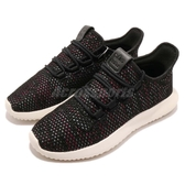 adidas 休閒鞋 Tubular Shadow CK W 黑 彩色 針織鞋面 女鞋 【PUMP306】 AQ0886
