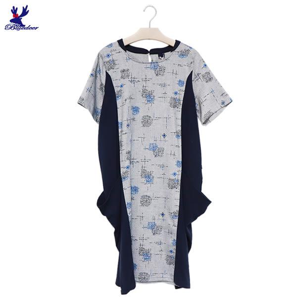 【下殺↘5折】American Bluedeer- 雙口袋洋裝 春夏新款