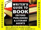 二手書博民逛書店Writer s罕見Guide To Book Editors, Publishers, And Literary