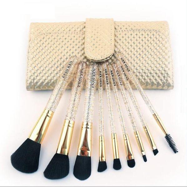 化妝刷套裝初學者全套刷子組合化妝工具全套彩妝工具美妝【快速出貨中秋節八折】