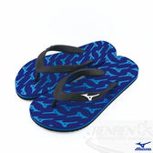 MIZUNO 美津濃 MIZUNO FLIP FLOP  運動夾腳拖鞋 (藍)  沙灘海邊K1GS168127