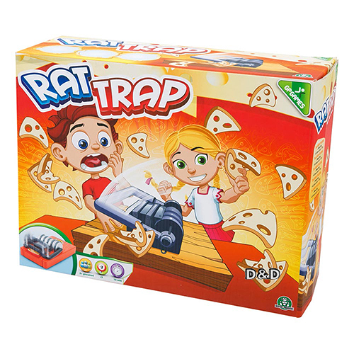 《 GP GAMES 》超級老鼠夾 / 派對桌遊 / 正版公司貨  ╭★ JOYBUS玩具百貨