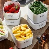 上班族飯盒微波爐加熱便當盒冰箱專用水果收納塑料保鮮盒 幸福第一站