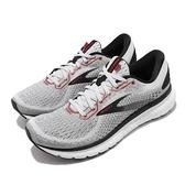 Brooks 慢跑鞋 Glycerin 18 灰 紅 男鞋 甘油系列 運動鞋 【ACS】 1103291D094