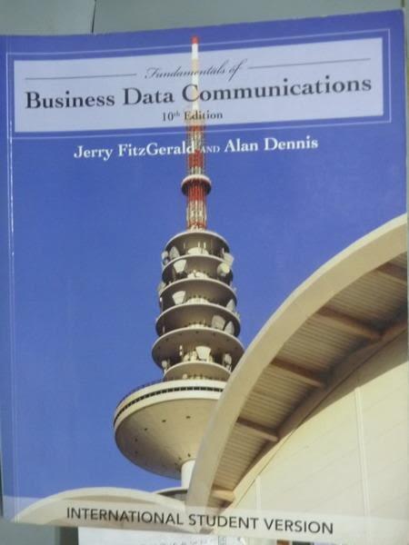 【書寶二手書T8/大學商學_QEH】Fundamentals of Business Data Communicatio