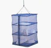 【速捷戶外露營】餐櫥網 GO SPORT 64350 吊掛式設計三個隔層 鳥籠 碗籃