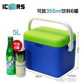 行動冰箱  保溫箱戶外便攜小型車載冰箱食品保鮮醫藥冷藏母乳背奶 igo 第六空間