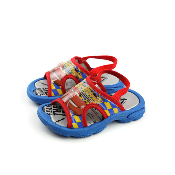 閃電麥坤 Cars 迪士尼 Disney 涼鞋(有鬆緊帶) 紅色 小童 no915