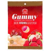 義美QQ巧克球-草莓煉乳口味200g【愛買】