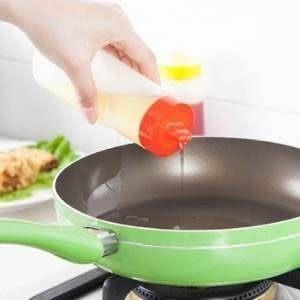 ♥靚女堂♥【BF302E25】食品級防漏帶蓋醬料瓶廚房番茄醬塑料沙拉瓶擠果醬瓶