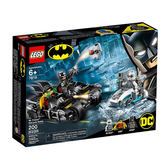 【LEGO 樂高積木】SUPER HEROES 超級英雄系列-急凍人:蝙蝠摩托車對決(6) LT-76118