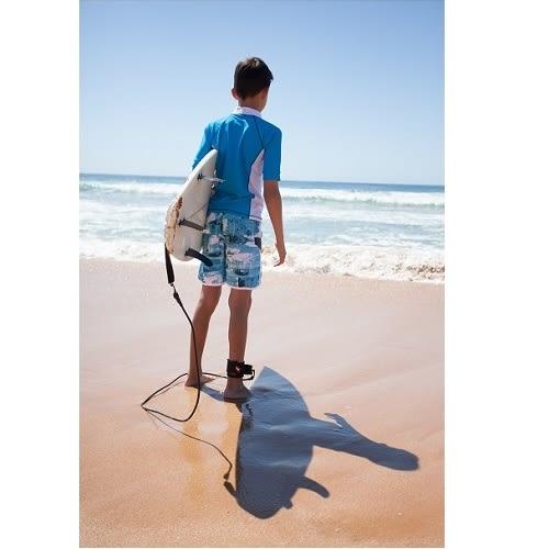 兒童泳衣 海灘泳褲 (高級網狀內裡 可下水可穿上街) 澳洲鴨嘴獸 UPF 50+抗UV(男2-8歲)