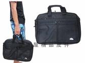 ~雪黛屋~WEEY 文件包MIT製造超大型容量二組加大二層主袋防水尼龍布電腦A4資夾提肩背斜側#1191