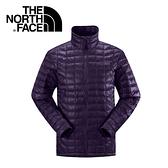 【The North Face 男 ThermoBall 暖魔球 保暖外套 深茄紫】 C939/暖魔球外套