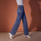 IN SHOP附腰包個性寬版牛仔褲【KT20834】