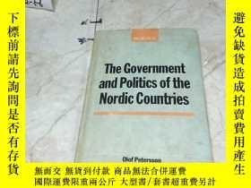二手書博民逛書店英文原版:The罕見Government and Politics of the Nordic Countries