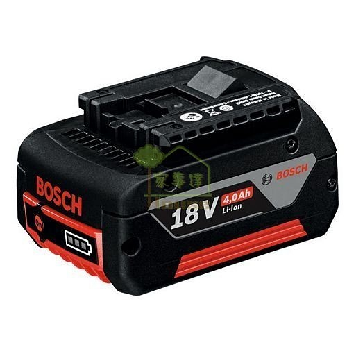 [ 家事達 ] 德國 BOSCH 鋰電池18V,4.0Ah(單入裝) 特價