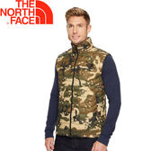 【The North Face 美國 男款 ThermoBall 背心《綠迷彩》】365Z/防風/暖魔球/輕量★滿額送
