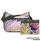 LeSportsac - Standard側背水餃包/流浪包-附化妝包 (棕櫚海灘) 7520P F186