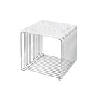 Montana 34.8x34.8cm 潘頓系列 線條 方形壁櫃 專用配件-檯面桌板(單格櫃 深 38 cm 專用)- 白色大理石紋