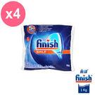 亮碟Finish 洗碗機軟化鹽 (1kg) x4