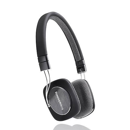 B&W Bowers & Wilkins P3 黑色 On Ear Headphones 時尚耳機