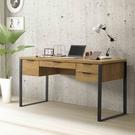兩色可選【雅博德】工業風5尺書桌-附USB/DIY自行組合產品