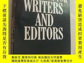 二手書博民逛書店The罕見Penguin Dictionary for Writ