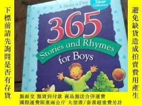 二手書博民逛書店365罕見Stores and Rhymes for Boys【