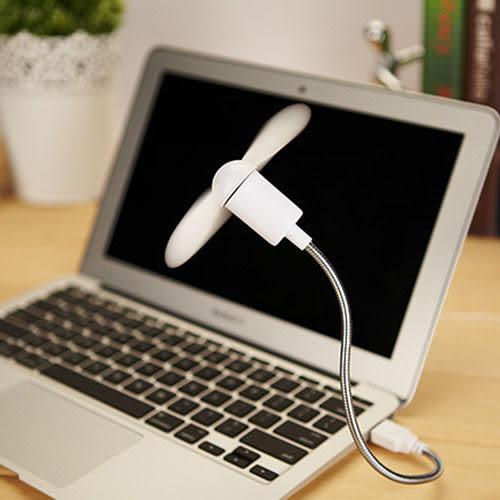 風力強USB蛇形可隨意彎曲迷你小電扇 筆電散熱 Nice Bear香奈熊