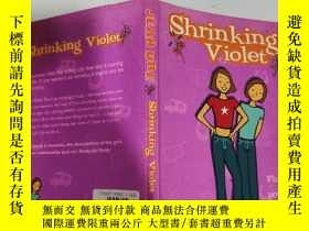 二手書博民逛書店shrinking罕見violet 縮紫.., Y200392