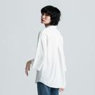 SISJEANS-白色雪紡寬鬆襯衫【17...